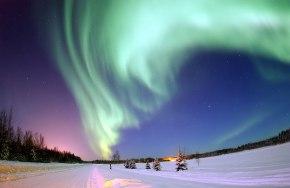Auroras boreales: las luces delNorte